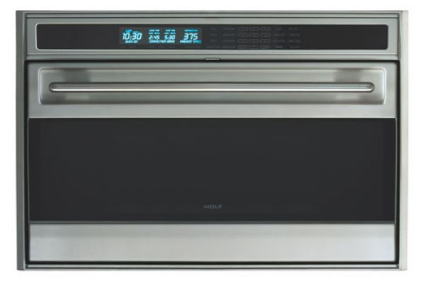 "Wolf 36"" L Series Built-In Single Electric Wall Oven - Stainless Steel Finish - SO36U/S"