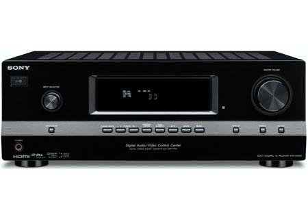 Sony 5 1 Channel Black AV Home Theater Receiver