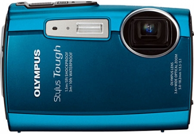 Olympus - STYLUS TOUGH-3000 BLUE - Digital Cameras