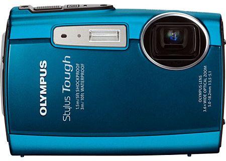 Olympus - STYLUS TOUGH-3000 BLUE - Digital Cameras