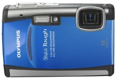 Olympus - Stylus Tough 6000 Blue - Digital Cameras