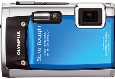 Olympus - STYLUS TOUGH-6020 BLUE - Digital Cameras