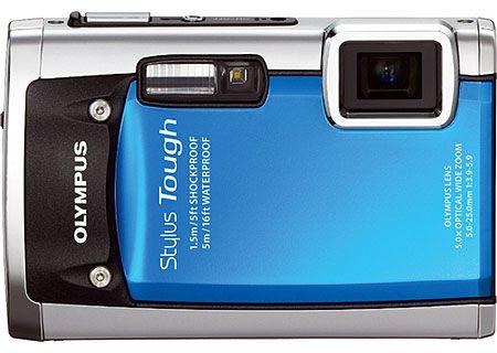 Olympus - STYLUS TOUGH-6020 BLUE - Digital Cameras