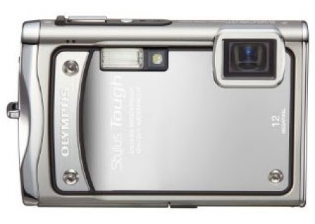 Olympus - Stylus Tough 8000 Silver - Digital Cameras