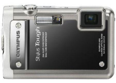 Olympus - STYLUS TOUGH-8010 Black - Digital Cameras