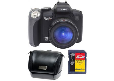 Canon - SX10 ISKIT - Digital Cameras