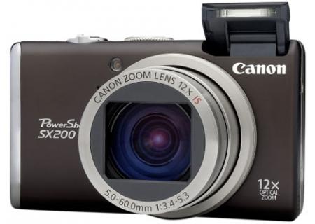 Canon - SX200 ISB - Digital Cameras