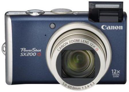 Canon - SX200 ISBLUE - Digital Cameras