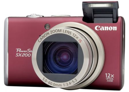 Canon - SX200 ISR - Digital Cameras