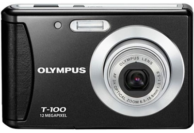 Olympus - T-100 BLACK - Digital Cameras