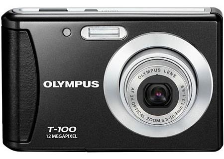 Olympus - T-100 BLACK - Digital Cameras