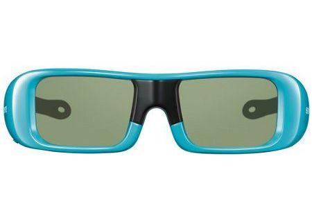 Sony TDG-BR50 Blue 3D Active Glasses Small - TDG-BR50/L