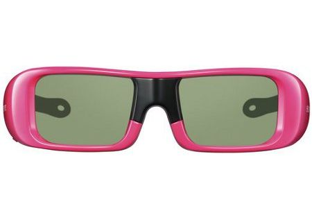 Sony TDG-BR50 Pink 3D Active Glasses Small - TDG-BR50/P