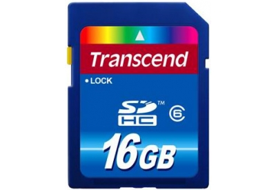 Transcend - TS16GSDHC6 - Memory Cards