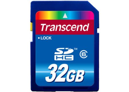 Transcend - TS32GSDHC6 - Memory Cards