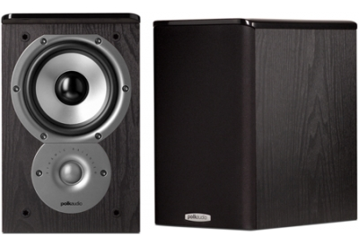Polk Audio - TSI100BK - Bookshelf Speakers
