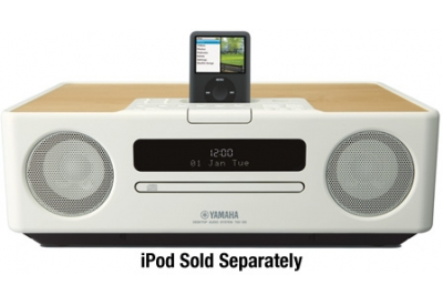Yamaha - TSX-130WH - Mini Systems & iPod Docks