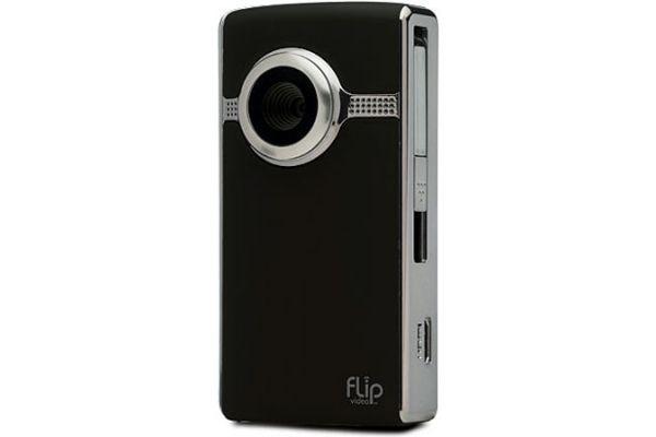 Large image of Flip Video U2120 Black HD Series Camcorder - U2120B