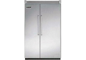 Viking - VCSB548SS - Built-In Side-By-Side Refrigerators