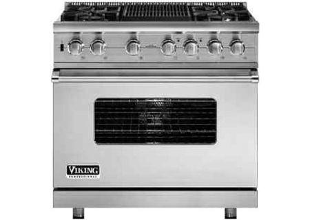 Viking - VDSC5364QSS - Dual Fuel Ranges