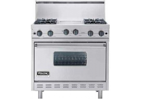 Viking - VGIC3684GSS - Free Standing Gas Ranges & Stoves
