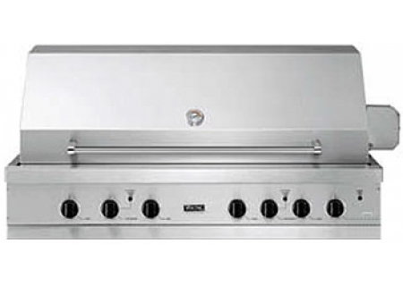 Viking 53 ultra premium e series stainless steel built in for Viking outdoor grill