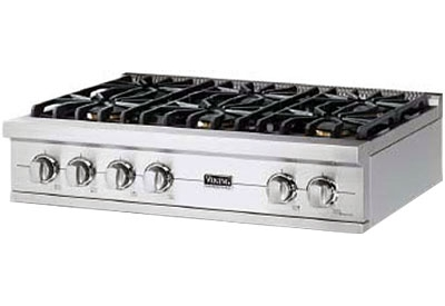 Viking - VGRT5366BSS - Gas Cooktops