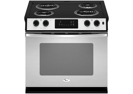 Whirlpool - WDE150LVS - Slide-In Electric Ranges