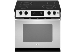 Whirlpool - WDE350LVS - Slide-In Electric Ranges