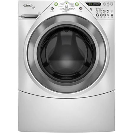 Whirlpool Duet HT Front Load White Washer