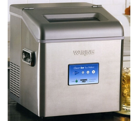 Best Countertop Clear Ice Maker : ... Pro Brushed Stainless Professional Countertop Clear Ice Maker - WIM30