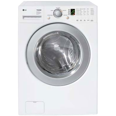 Lg 3 6 Cu Ft White Front Load Washer Wm2016cw Abt