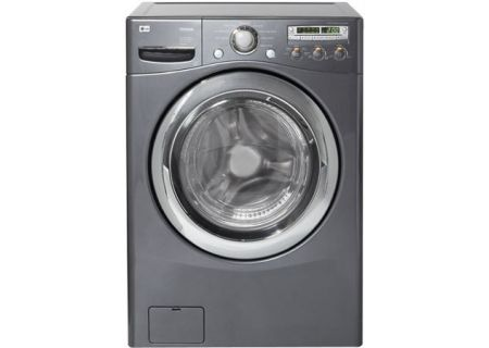 LG Cu Ft Pearl Gray Front Load Washer WMHG Abt - Abt washers
