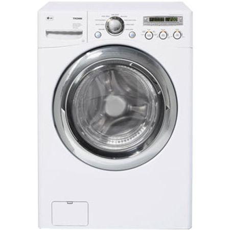 LG TROMM 4.2 Cu Ft White Front Load Washer - WM2455W - Abt