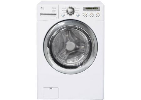 LG - WM2455W - Front Load Washing Machines