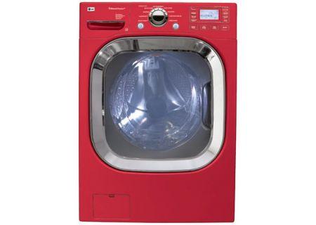 LG - WM3001HRA - Front Load Washing Machines