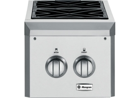 GE Monogram - ZGU122LPSS - Grill Side Burners