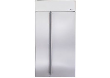 Monogram 42 Built In Side By Stainless Steel Refrigerator Ziss420nxss