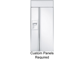 GE Monogram - ZISW360DX - Built-In Side-By-Side Refrigerators