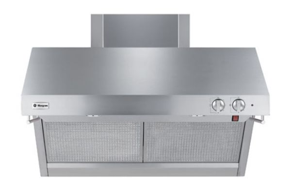 """Large image of Monogram 36"""" Stainless Professional Wall Hood - ZV36RSFSS"""