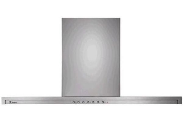 "Large image of Monogram 36"" Slide-Out Wall Hood - Stainless Steel Finish - ZV800SJSS"