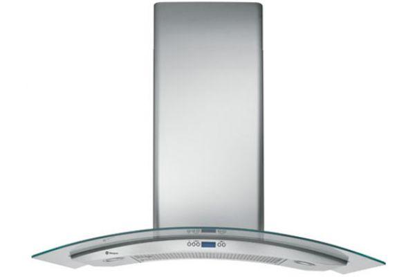 "Monogram 36"" Glass Canopy Wall Hood - Stainless Steel Finish - ZV900SLSS"