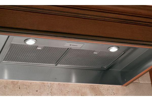 """Monogram 36"""" Stainless Steel Custom Hood Insert - ZVC36LSS"""