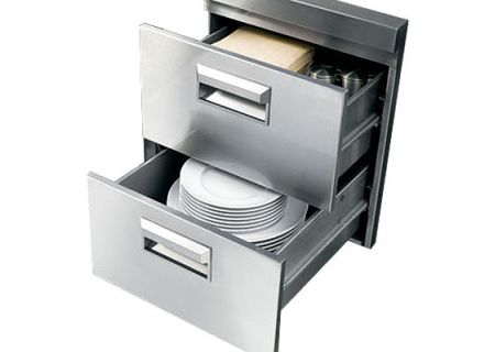 Monogram - ZX18DS - Grill Carts & Drawers