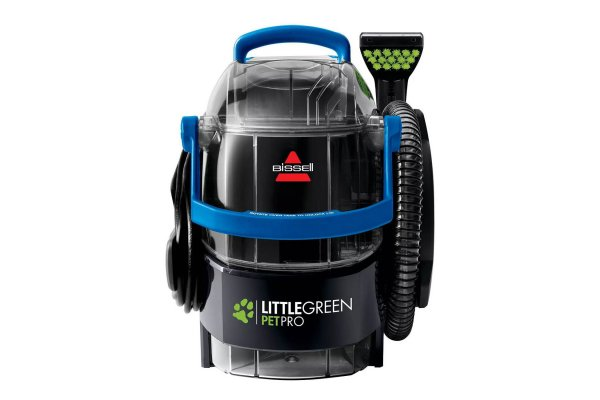 Large image of Bissell Little Green Pet Pro Portable Carpet Cleaner - 2891