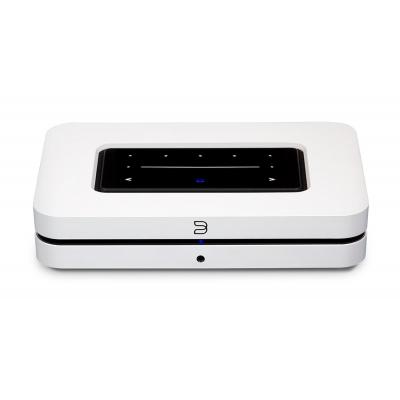 Bluesound NODE White Wireless Multi-Room Hi-Res Music Streamer