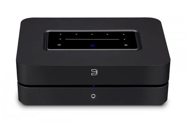 Large image of Bluesound POWERNODE Black Wireless Multi-Room Hi-Res Music Streamer - N330BLKUNV