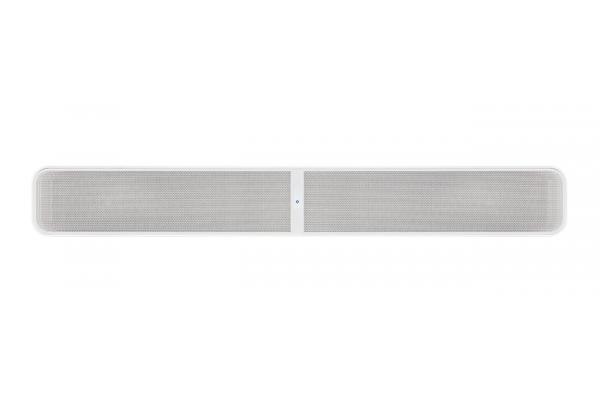 Large image of Bluesound PULSE SOUNDBAR+ White Wireless Streaming Soundbar - PULSE SOUNDBAR PLUS WHT
