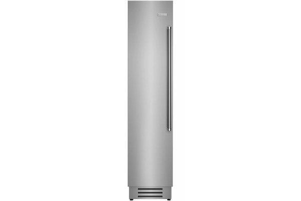 "Large image of BlueStar 18"" Stainless Steel Left Hinge Built-In Column Freezer - BIF18L"