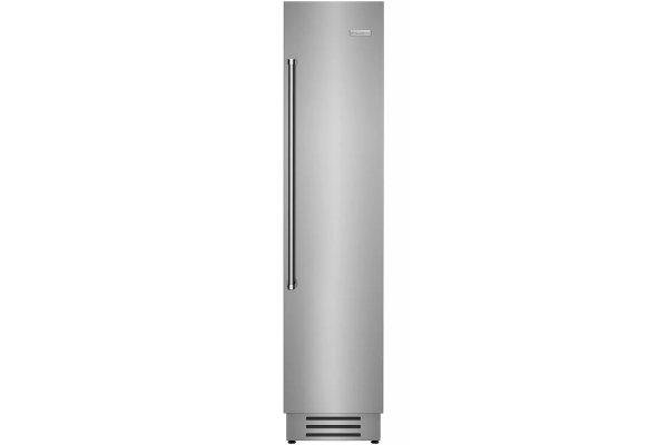 "Large image of BlueStar 18"" Stainless Steel Right Hinge Built-In Column Freezer - BIF18R"